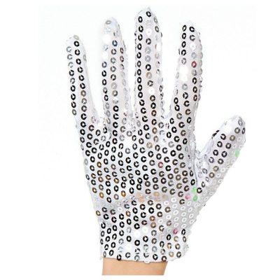 Child Size Unlit Michael Jackson Left Hand Sequin Glove All Products