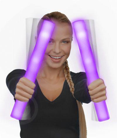 Purple LED Foam Cheer Sticks All Products