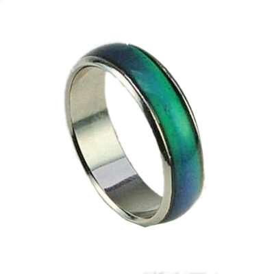Size 10 Seventies Mood Rings with 1 Free E Mood Ring All Products