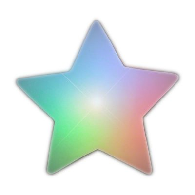 Multicolored Star Table Decoration All Products