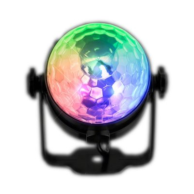 LED Disco Light Projector with Remote Rainbow Multicolor