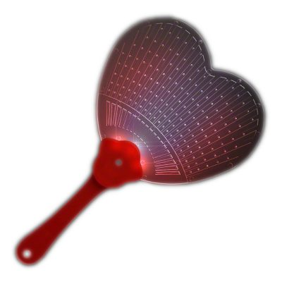 Heart Shaped  LED Hand Fan All Products