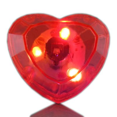 Huge Heart Gem Rings Red All Products