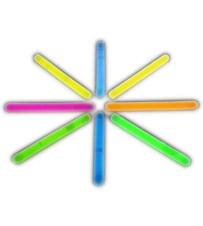 2 Inch Glow Stick Assorted Pack of 100 2 Inch Glow Sticks