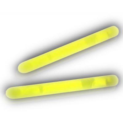2 Inch Glow Stick Yellow Pack of 100 2 Inch Glow Sticks