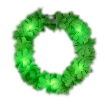 St Patricks Day Green Flower Crown All Products