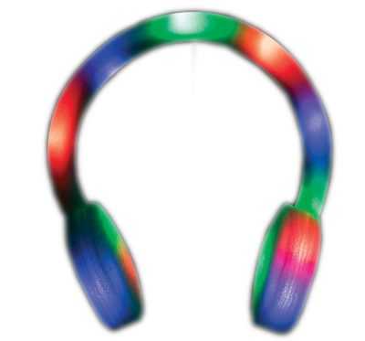 Light Up Multicolor Foam Headphone All Products