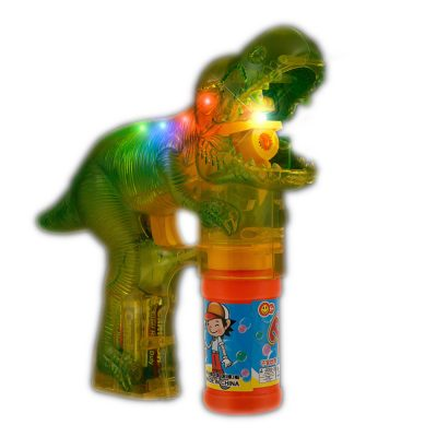 Flashing LED Dinosaur Bubble Gun All Products
