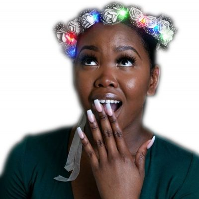 Light Up Multicolor Princess Rosebud Flower Crown All Products