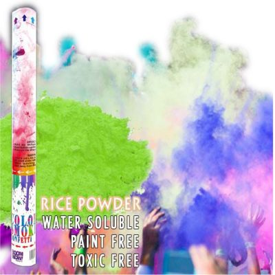 Green Holi Powder Confetti Cannon 18 Inch All Products