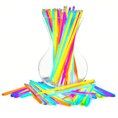 Assorted 16 Inch Large Glow Stick Pack of 12 All Products
