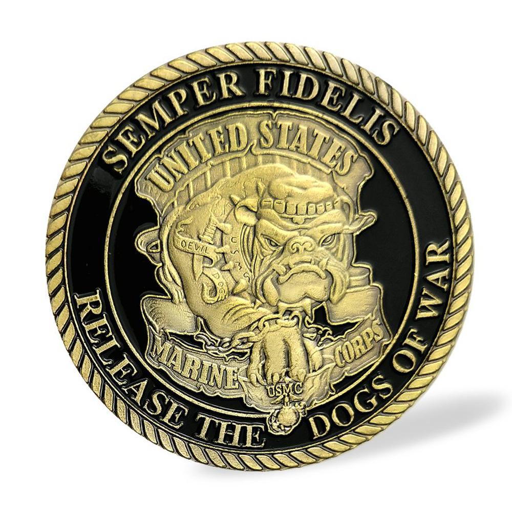 United States Marine Corps Commemorative Gold Coin • Magic