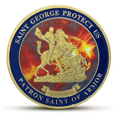 SWAT Saint George Commemorative Coin All Products