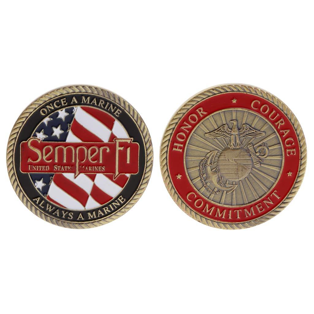 Semper Fi US Marine Commemorative Coin • Magic Matt's