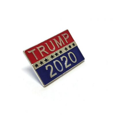 Donald Trump 2020 Unlit Silver Plated Pin All Products