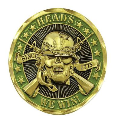 Heads We Win Tails You Lose Challenge Bronze Coin All Products