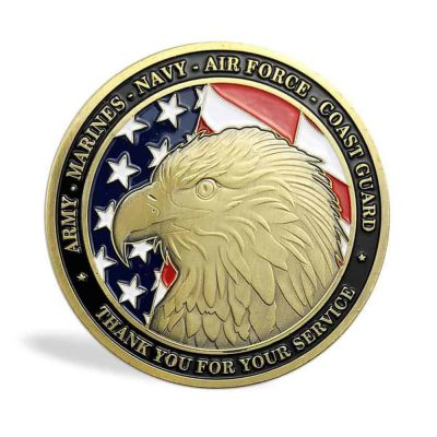 Army Navy Marine Air Force Coast Guard US Department of Defense Commemorative Coin All Products