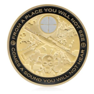 Sniper You Can Run Die Tired Challenge Bronze Coin All Products