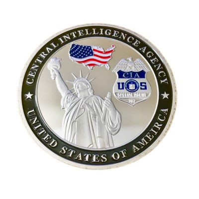 US Central Intelligence Agency Challenge Silver Coin All Products
