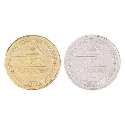 Maya Calendar Commemorative Collection Coin Set of 2 All Products