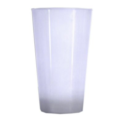 16 oz Light Up Acrylic Glow Glasses White All Products