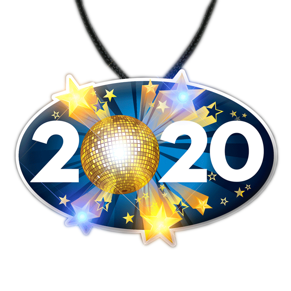 2020 Charm New Years Eve Lanyard Necklace All Products