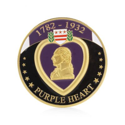 Purple Heart Military Merit Division Challenge Coin All Products