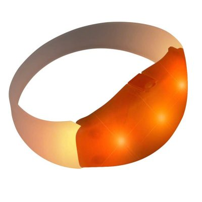 Rubber Frosted Orange Bracelet All Products