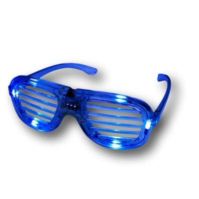 Blue Slotted Rock Star Shutter Sunglasses Pack of 6 All Products