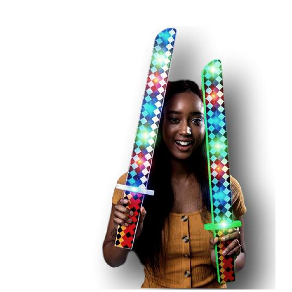 Flashing Pixel Diamond Musical Sword All Products