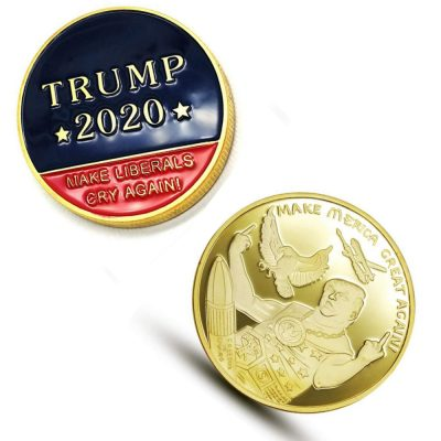 Donald Trump 2020 Merica Gold Commemorative  MAGA Coins All Products