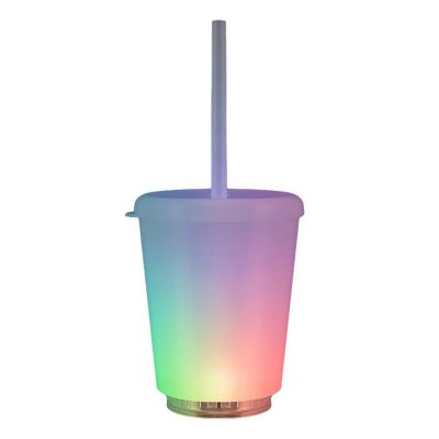 12 oz Mini Opaque Acrylic Tumbler with Lid and Straw All Products