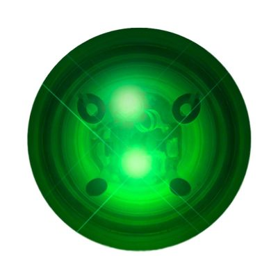 LED Impact Activated Bouncy Ball Green All Products
