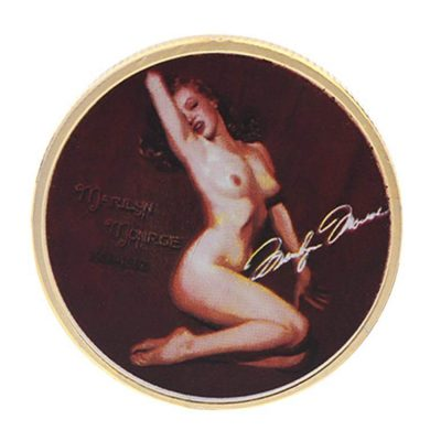 Marilyn Monroe Commemorative Souvenir Gold Coin All Products