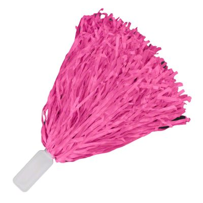 Non Light Up Short Handle Cheer Pom poms Pink All Products