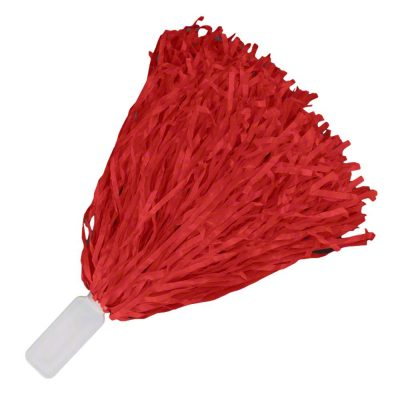 Non Light Up Short Handle Cheer Pom poms Red All Products