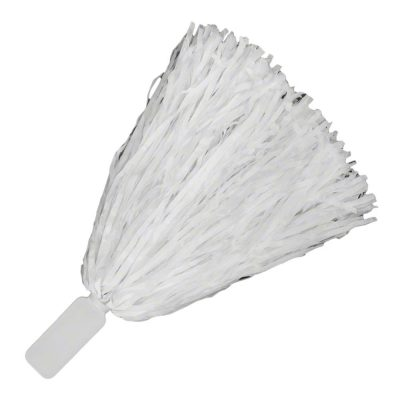 Non Light Up Short Handle Cheer Pom poms White All Products