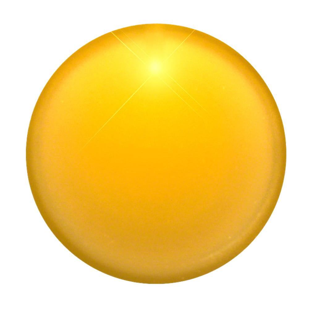 Light Up Round Badge Pin Yellow All Products