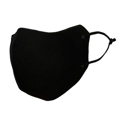 Reusable Adjustable Black Face Mask for Adults All Products