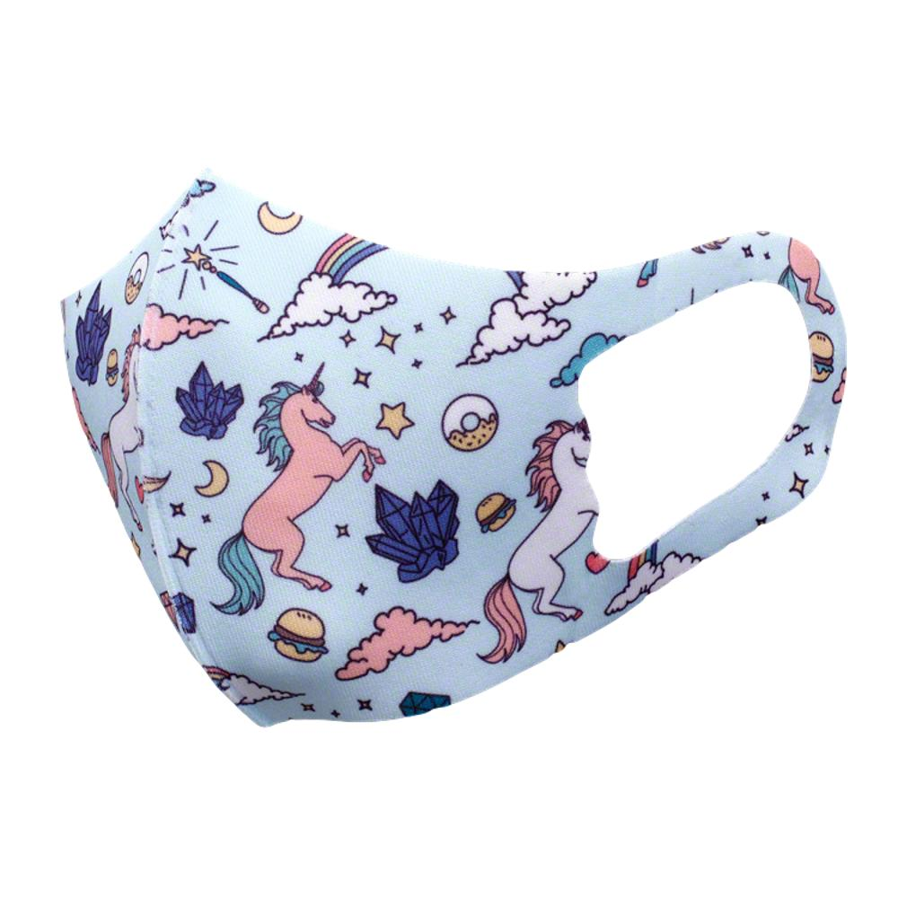 Unicorn Little Ponies Kid Sized Soft Stretchable Face Mask All Products