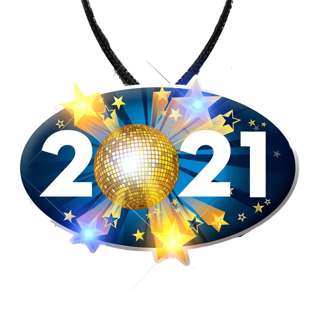 2021 Charm New Years Eve Lanyard Necklace All Products