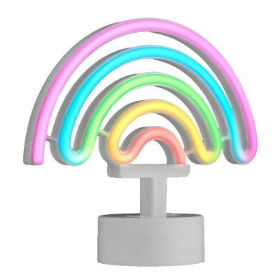 USB LED Desk Rainbow Tabletop Sign Multicolor All Products