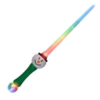 Light Up Expandable Snowman Prism Sword Saber 4th of July
