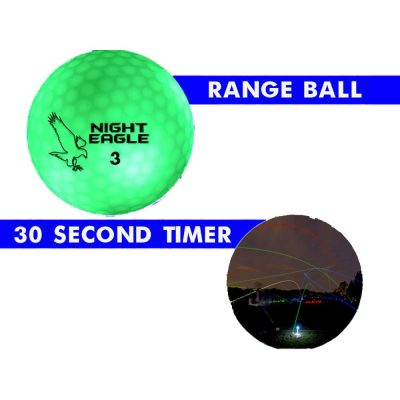 30 Second LED Golf Ball Pack of 24 Green All Products