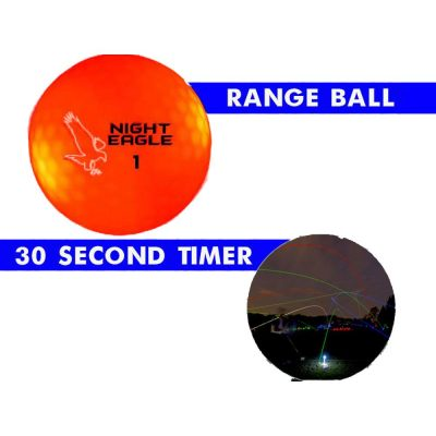 30 Second LED Golf Ball Pack of 24 Red All Products