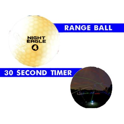 30 Second LED Golf Ball Pack of 24 White All Products