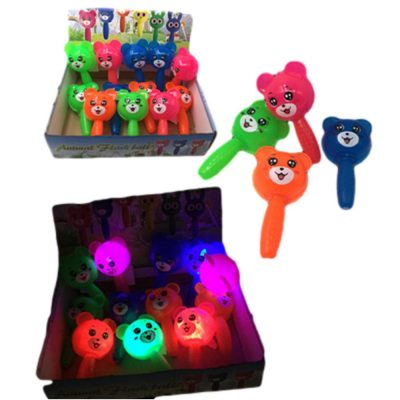 Case of 192 Light Up Bear Puffer with Handle Assorted All Products