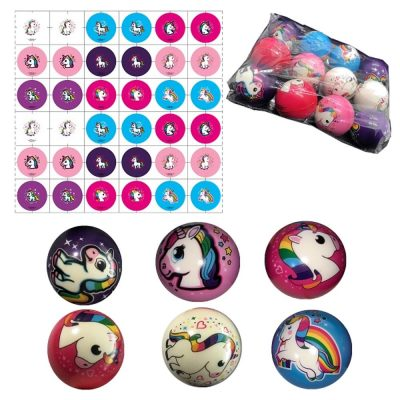 Case of 480 Cute Unicorn Stress Therapy Relax Ball Great for Reflex All Products