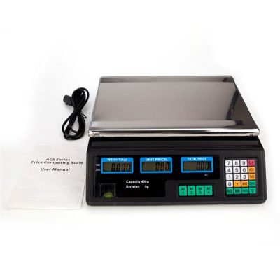 Electronic Professional Digital Price Computing Scale for Food Meat Vegetable ACS-30 40kg/5g All Products