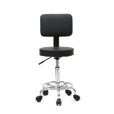 Black Round Adjustable High Quality Salon Stool All Products